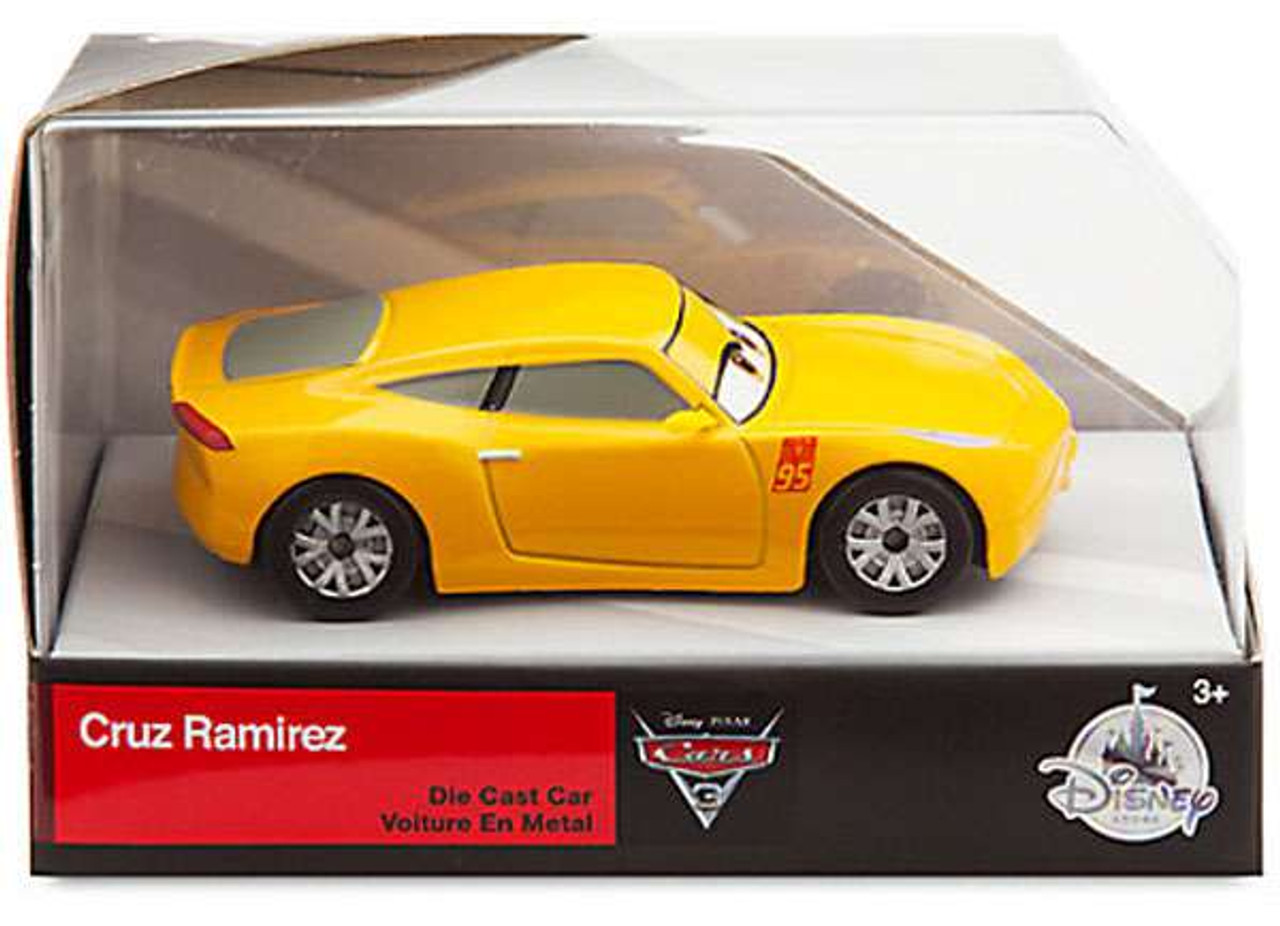 Disney Pixar Cars Cars 3 Cruz Ramirez Exclusive 143 Diecast Car