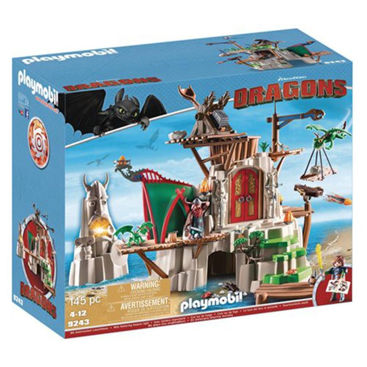 Playmobil Dragons Dragon Figurines Dragons Viking