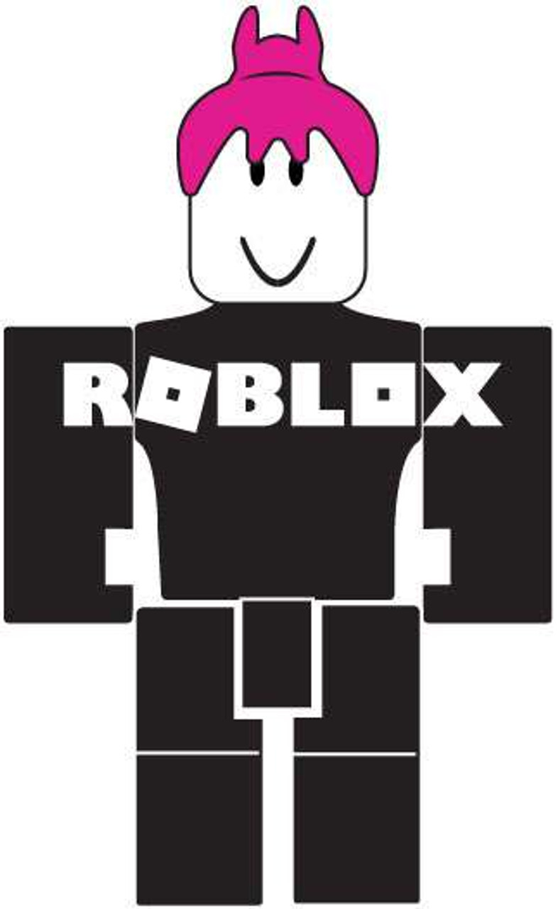 Roblox Series 1 Girl Guest 3 Mini Figure No Code Loose Jazwares