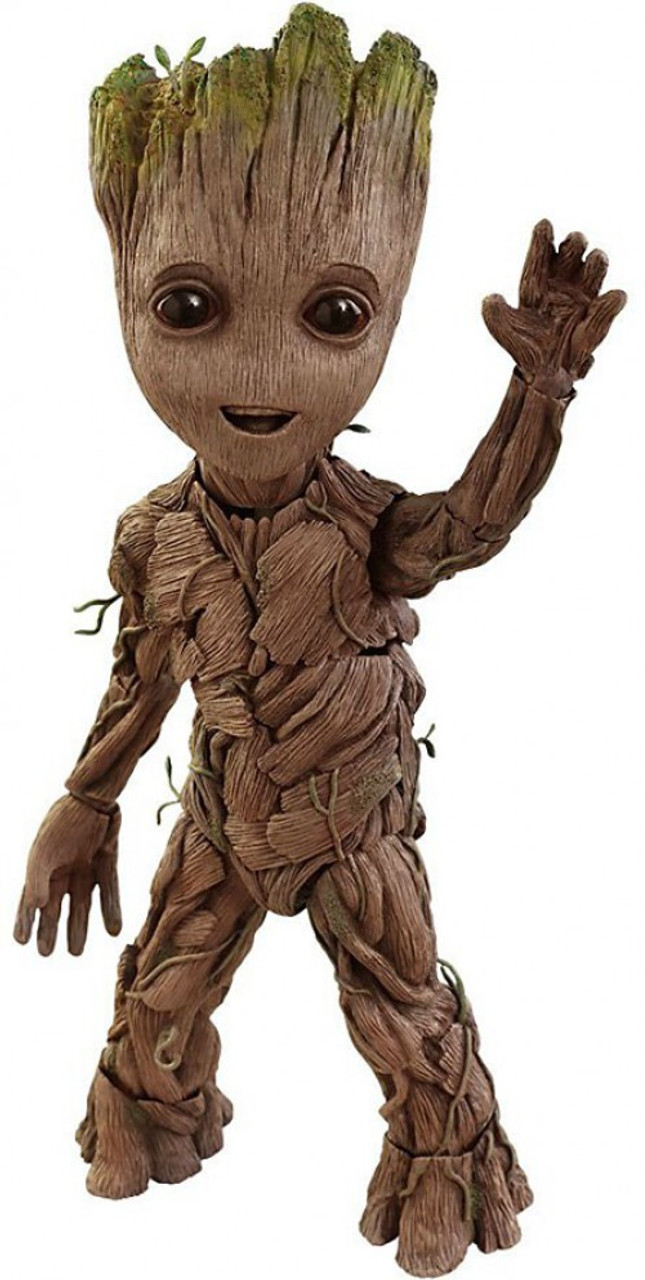 "Vinyl... Groot 10/"" Life-Size US Exclusive Pop Guardians of the Galaxy: Vol 2"