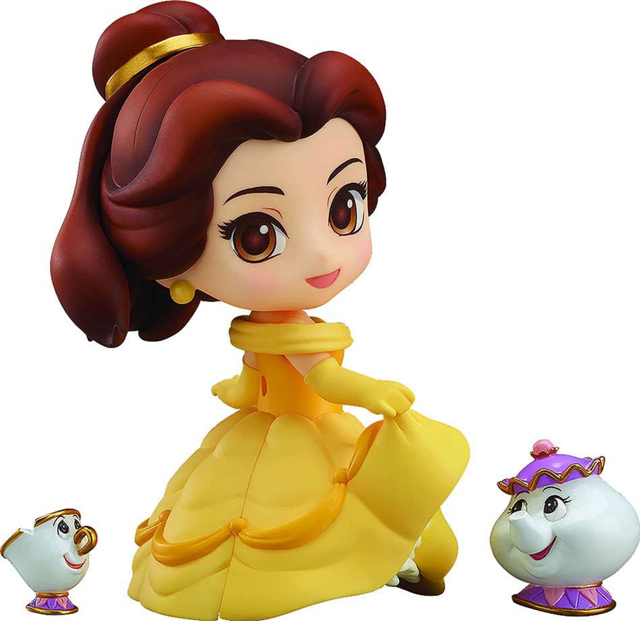 Disney Beauty And The Beast Nendoroid Belle 3 9 Action Figure Good Smile Company Toywiz