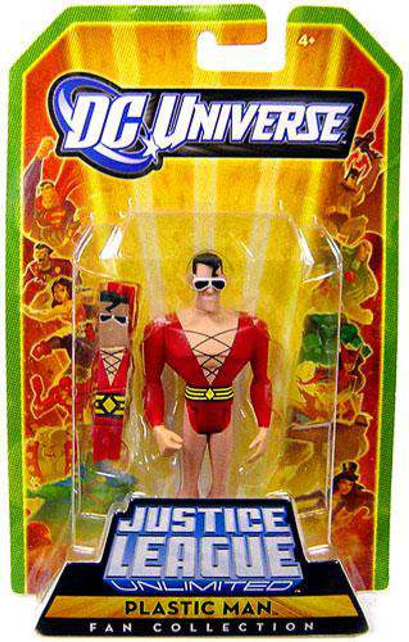"""Justice League Unlimited Loose 4/"""" THE SHADE Action Figure DC Universe JLU Mattel"""