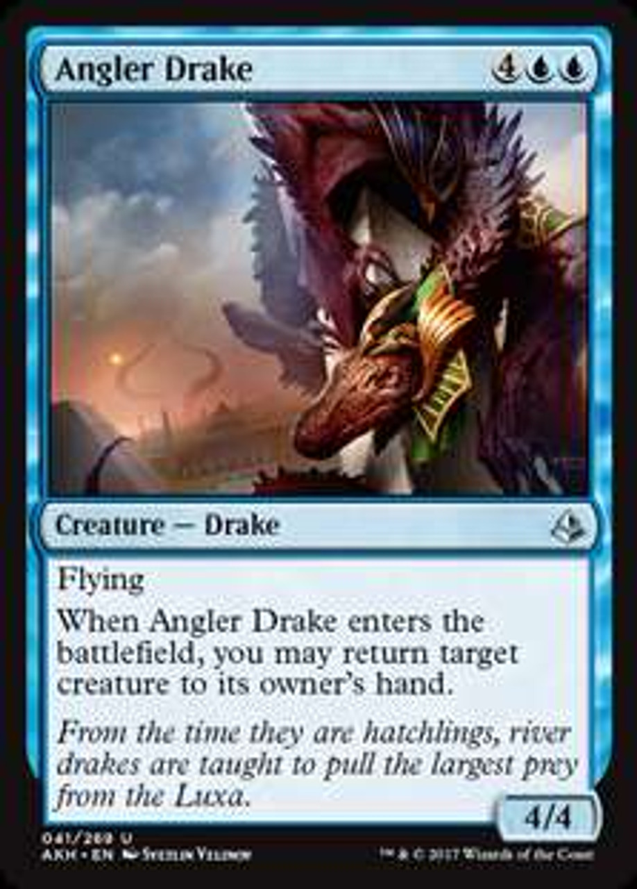 Magic The Gathering Amonkhet Single Card Uncommon Angler