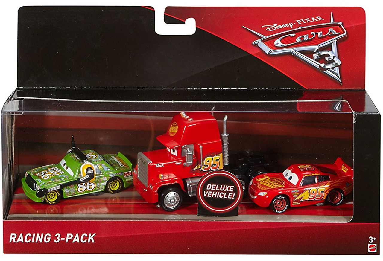 Velsete Disney Pixar Cars Cars 3 Mack, Lightning McQueen Chick Hicks 155 GI-78