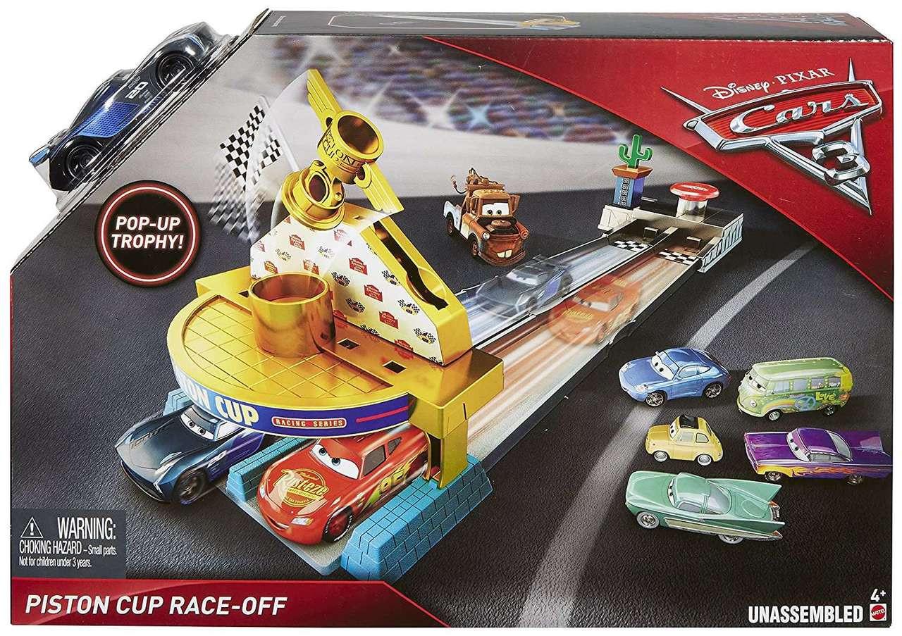 Disney / Pixar CARS Movie 1:55 Die Cast Car Series 1 The King with ... | 903x1280