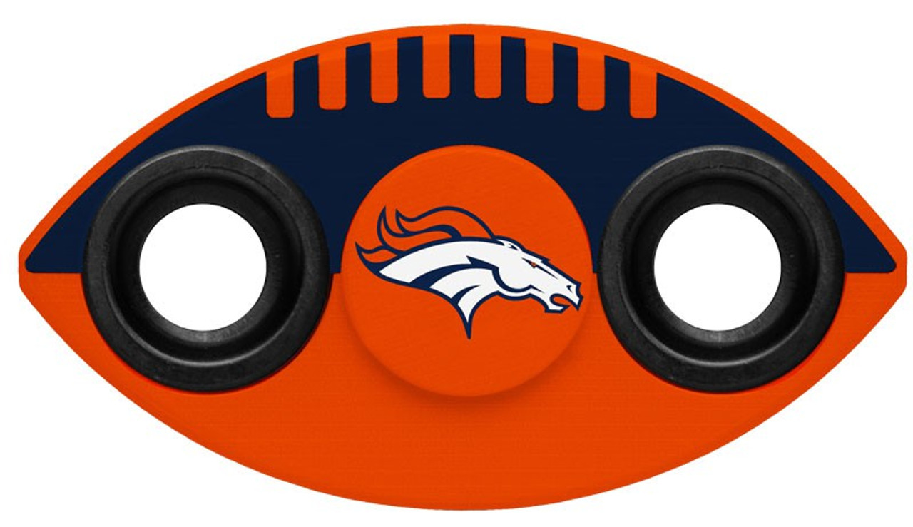 Team Two Hand Nfl Denver Spinners Way Broncos Spinner