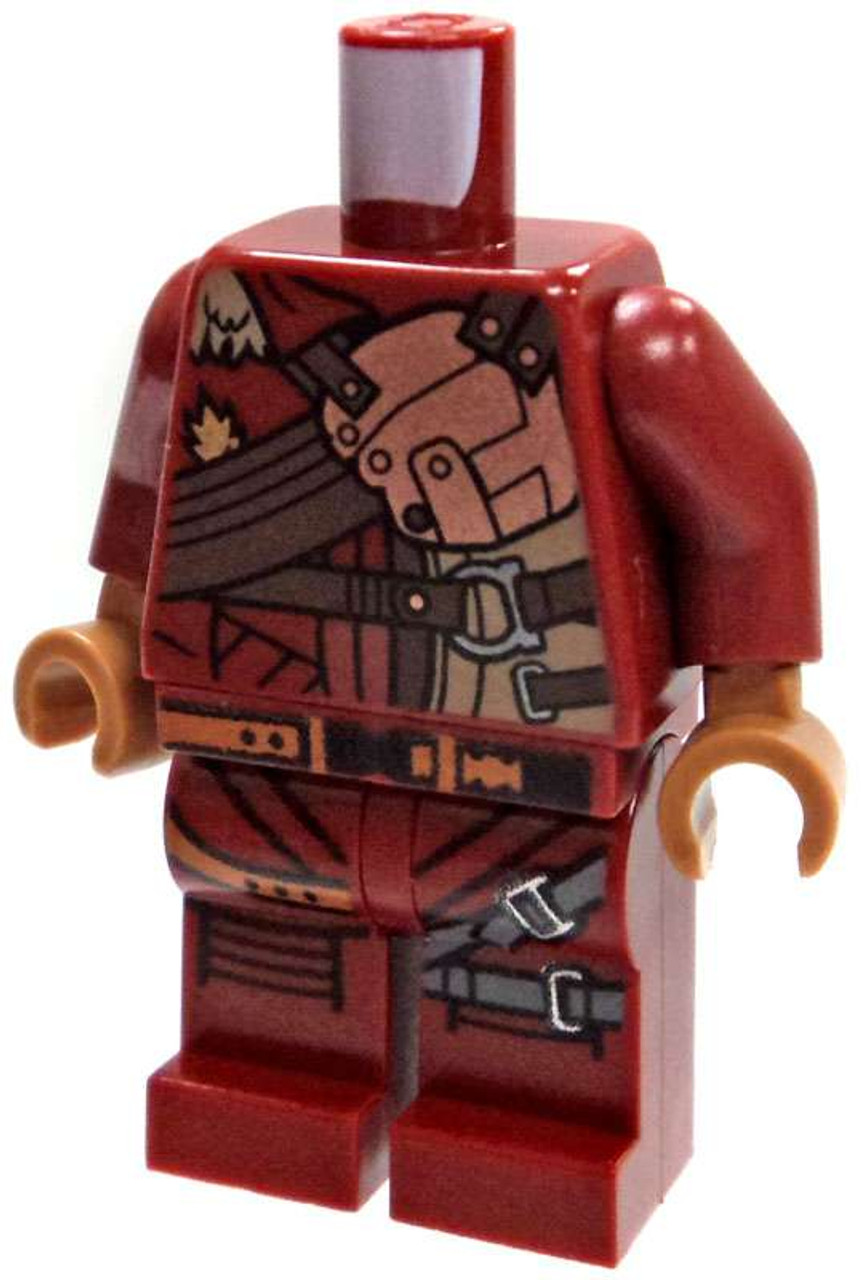 83a49a27597 LEGO Minifigure Parts Dark Red Ravengers Uniform Loose Torso Loose ...