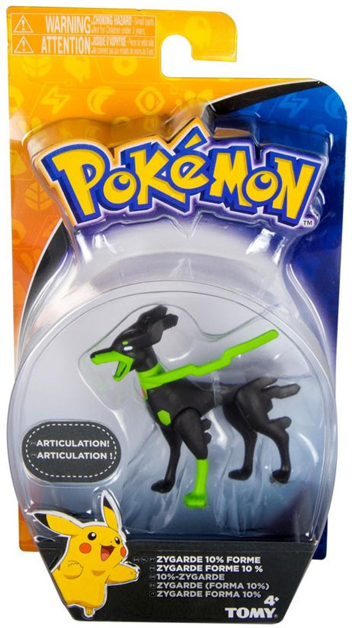 Pokemon Action Pose Figures Zygarde 10/% Forme