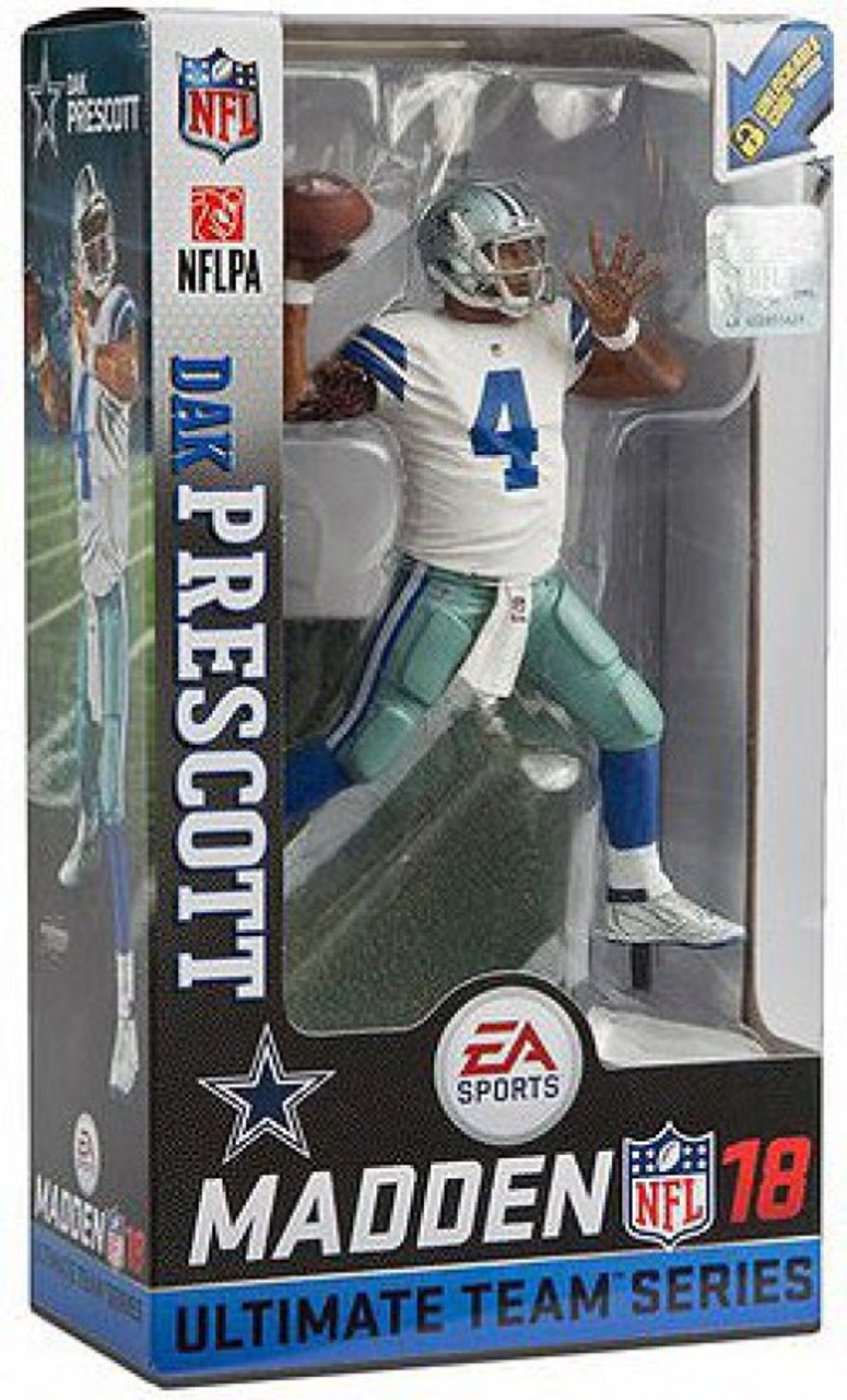 0042bf848 McFarlane Toys NFL Dallas Cowboys EA Sports Madden 18 Ultimate Team Series 2  Dak Prescott Action
