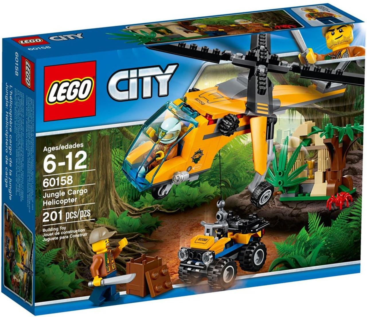 Lego City Jungle Cargo Helicopter Set 60158 Toywiz