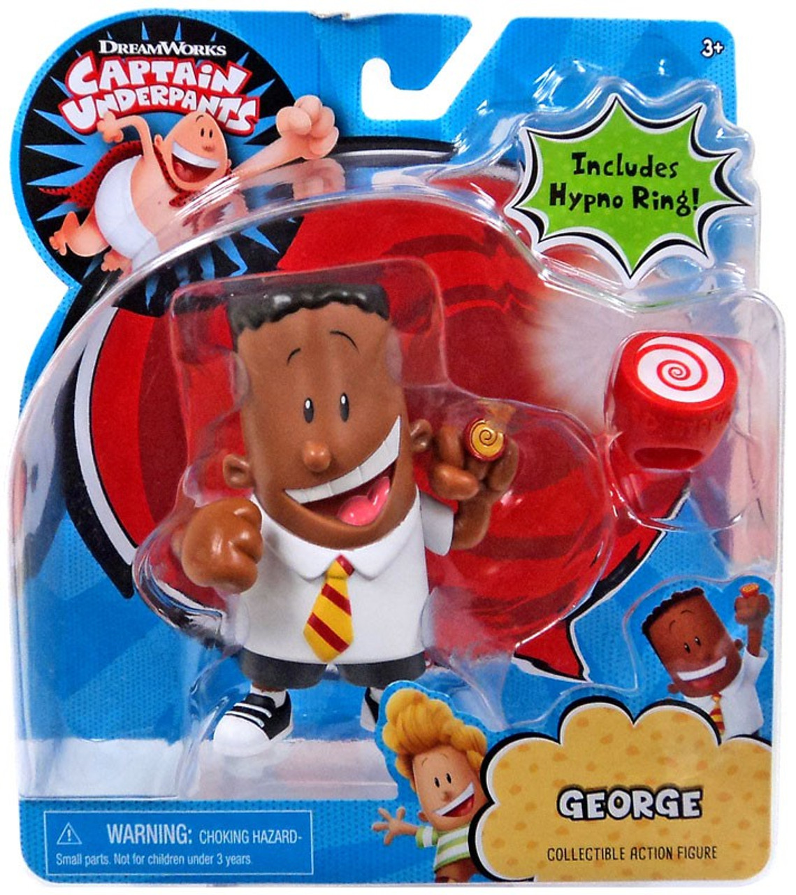 Just Play Captain Underpants Collectible Figures