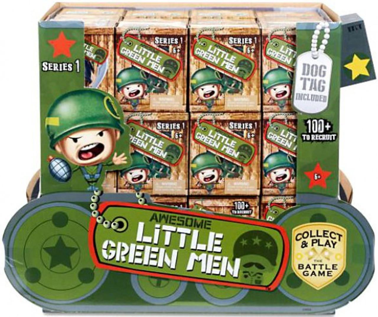 3 Awesome Little Green Men Mystery Blind Pack Series 1 Vinyl figure Brand New