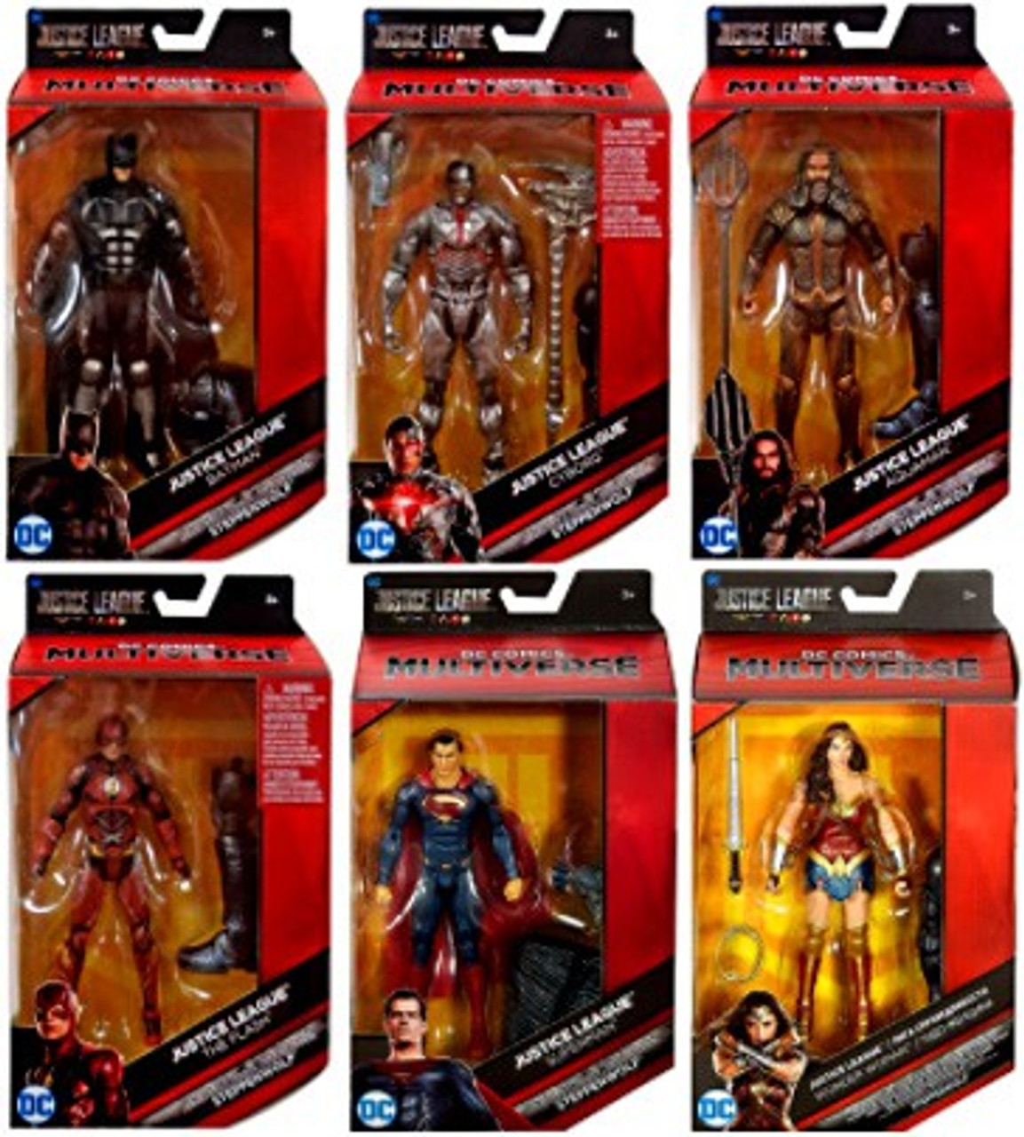 DC Justice League Series Exclusive 5 Inch Tall Action Figure Aquaman