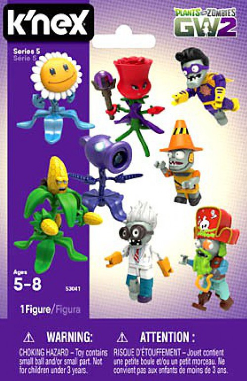 K'NEX Plants vs  Zombies GW2 Series 5 Mystery Pack