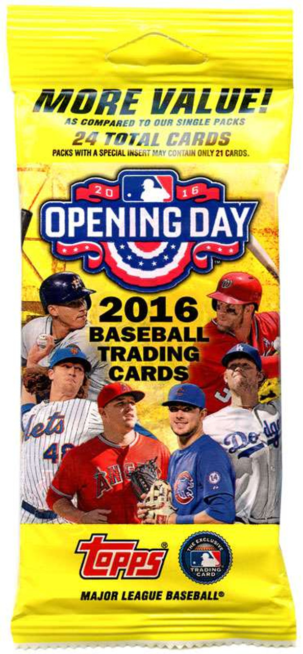 Mlb 2016 Topps Baseball Cards 2016 Opening Day Trading Card