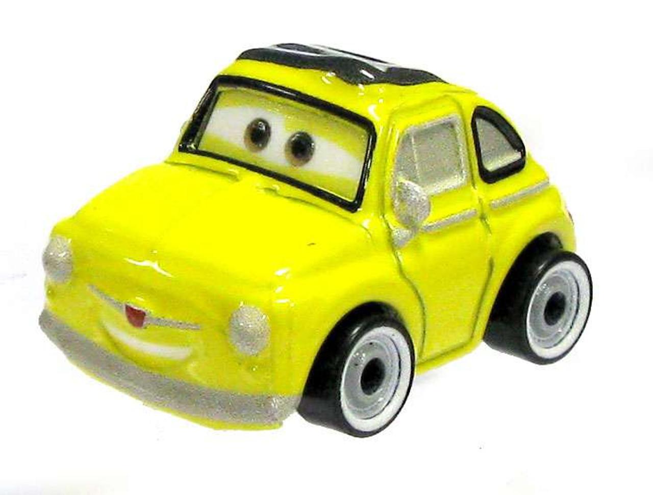 Disney Cars Die Cast Mini Racers Luigi Car Loose Mattel Toys Toywiz
