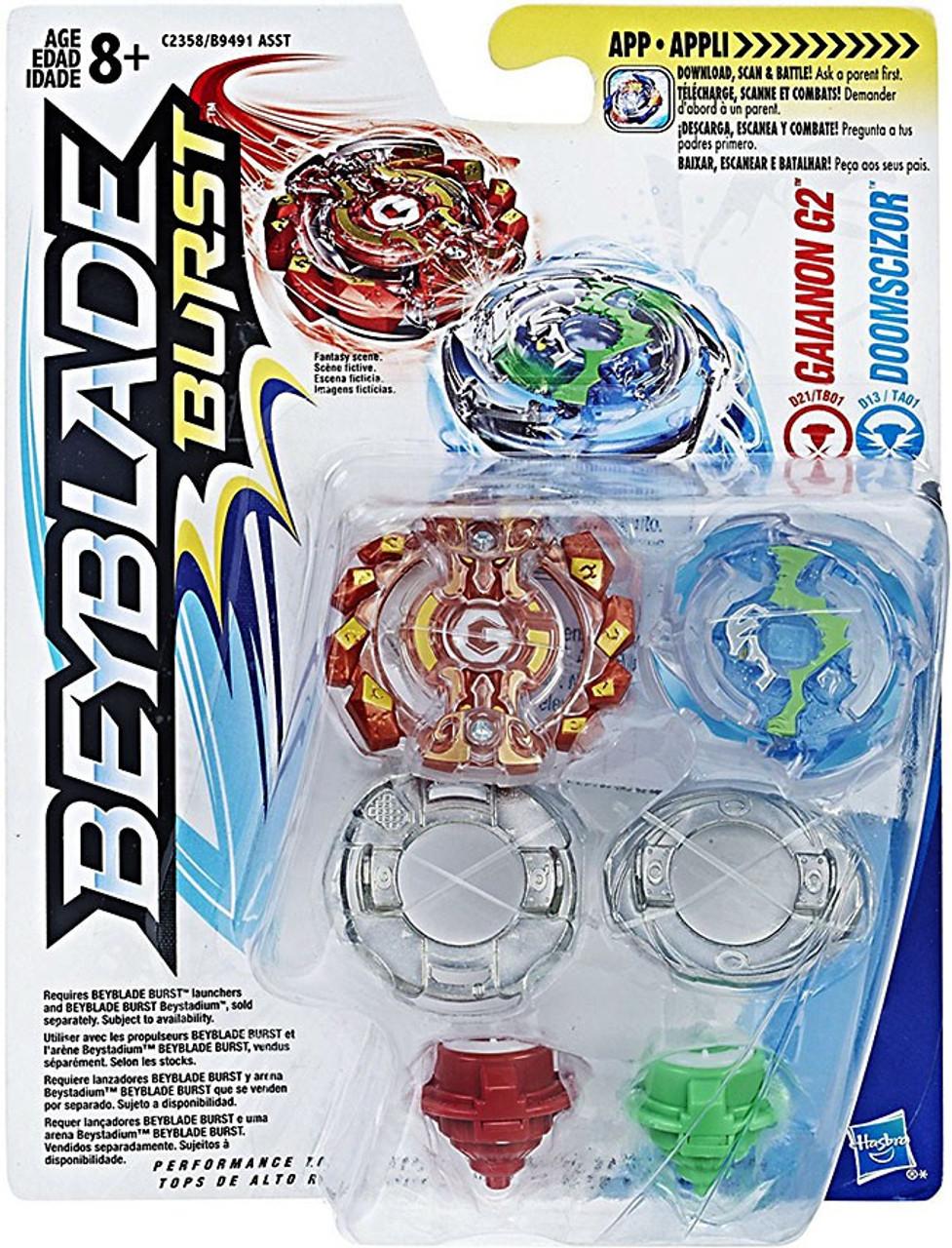 Bey Blade Burst Single Top Packs Doomscizor Action Figure