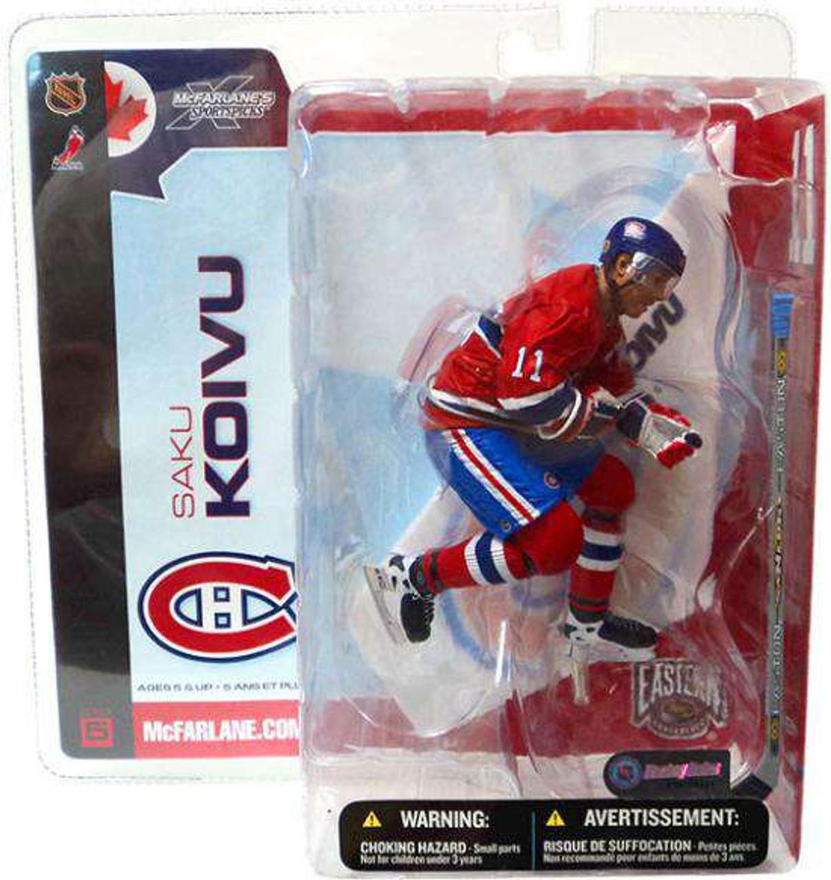 McFarlane Toys NHL Montreal Canadiens Sports Picks Series 5 Saku Koivu Action  Figure Damaged Package - ToyWiz c232c5db2