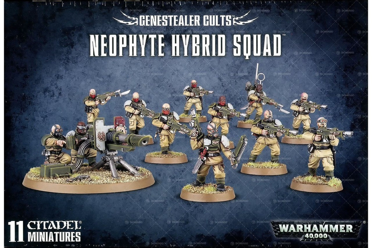Warhammer 40,000 Genestealer Cults Neophyte Hybrid Squad