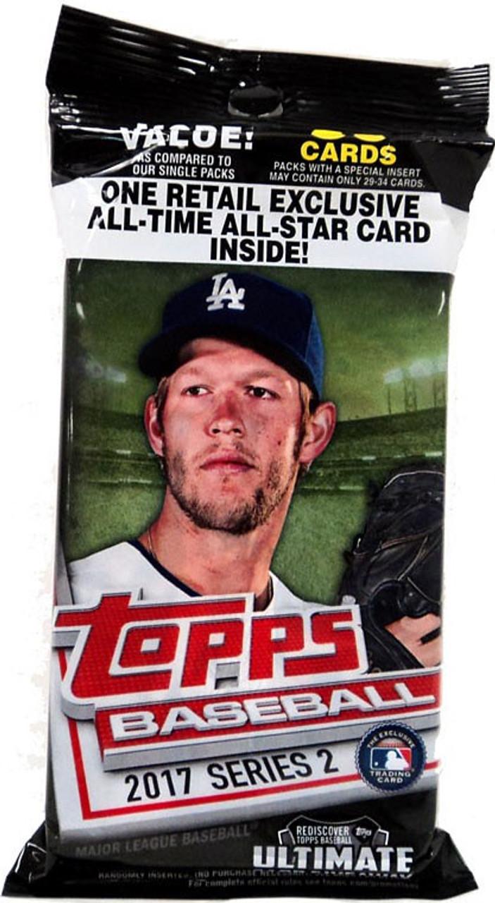 Mlb 2017 Topps Baseball Cards Series 2 Trading Card Value Pack