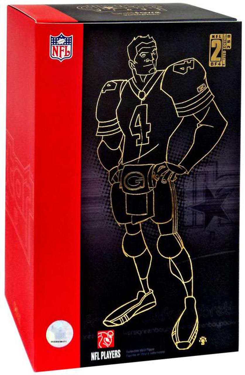 NFL Green Bay Packers All Star Vinyl Brett Favre Vinyl Figure  Black   Gold  32c8cf801