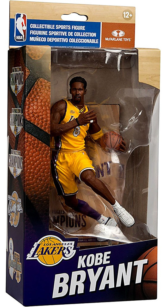 McFarlane Toys NBA Los Angeles Lakers Championship Series Kobe Bryant  Action Figure  NBA Finals 2000 9f53460bb