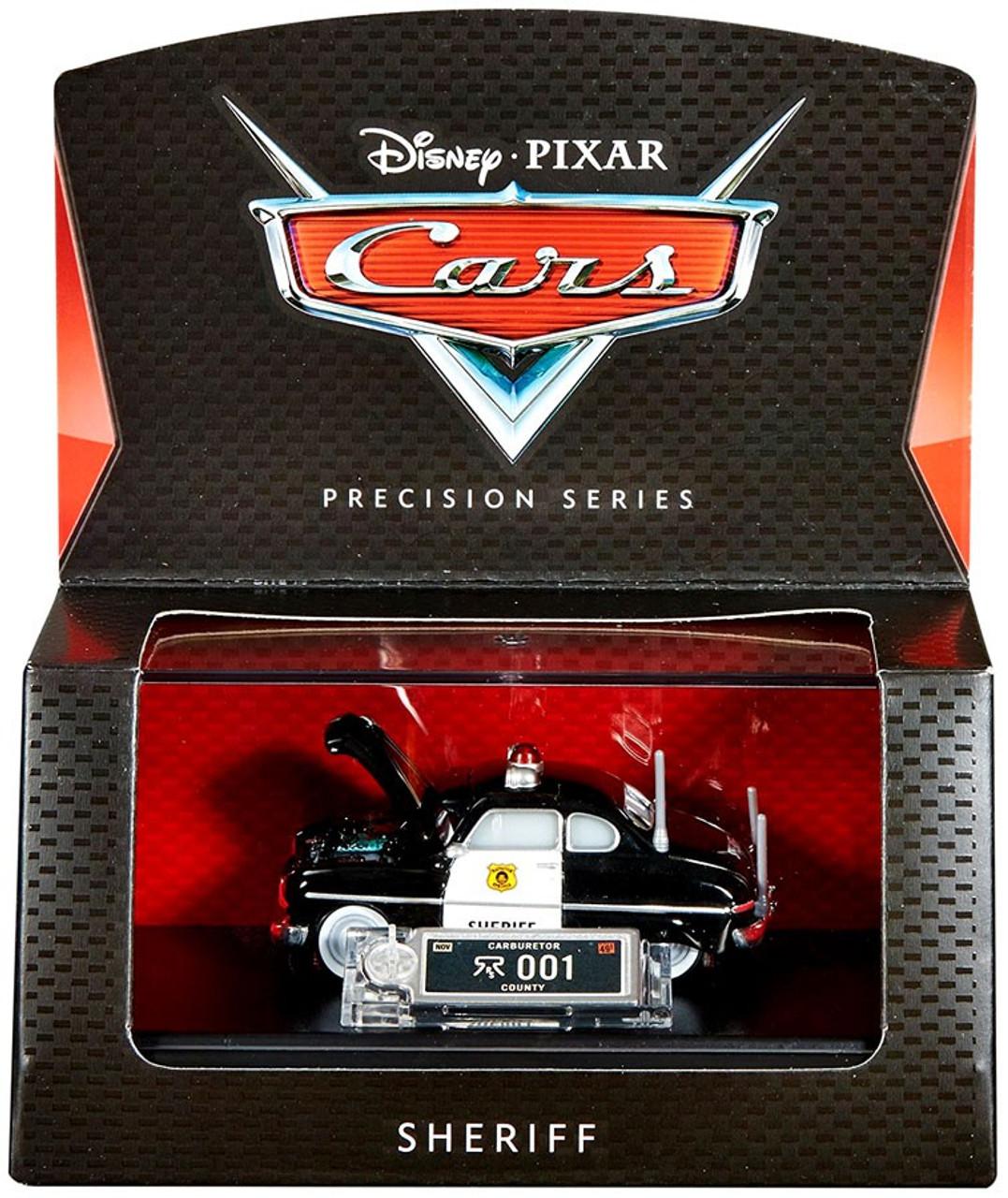Disney Pixar Cars Precision Series Sheriff 155 Diecast Car Mattel