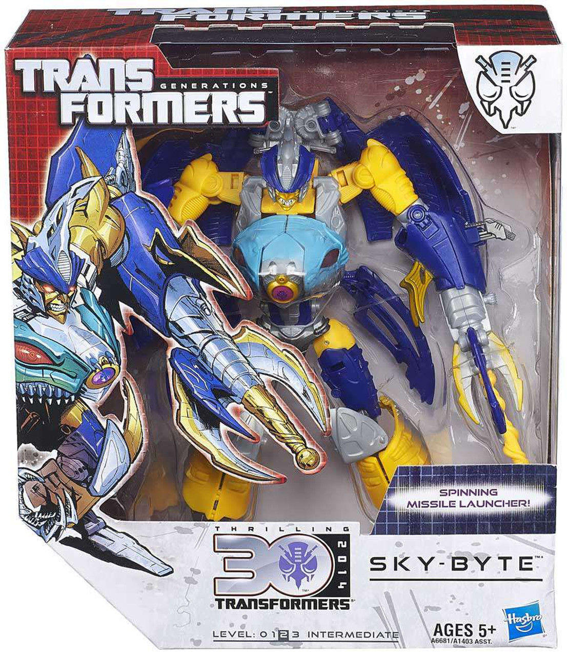 SKY-BYTE Transformers Generations IDW Voyager Class 30th Anniversary