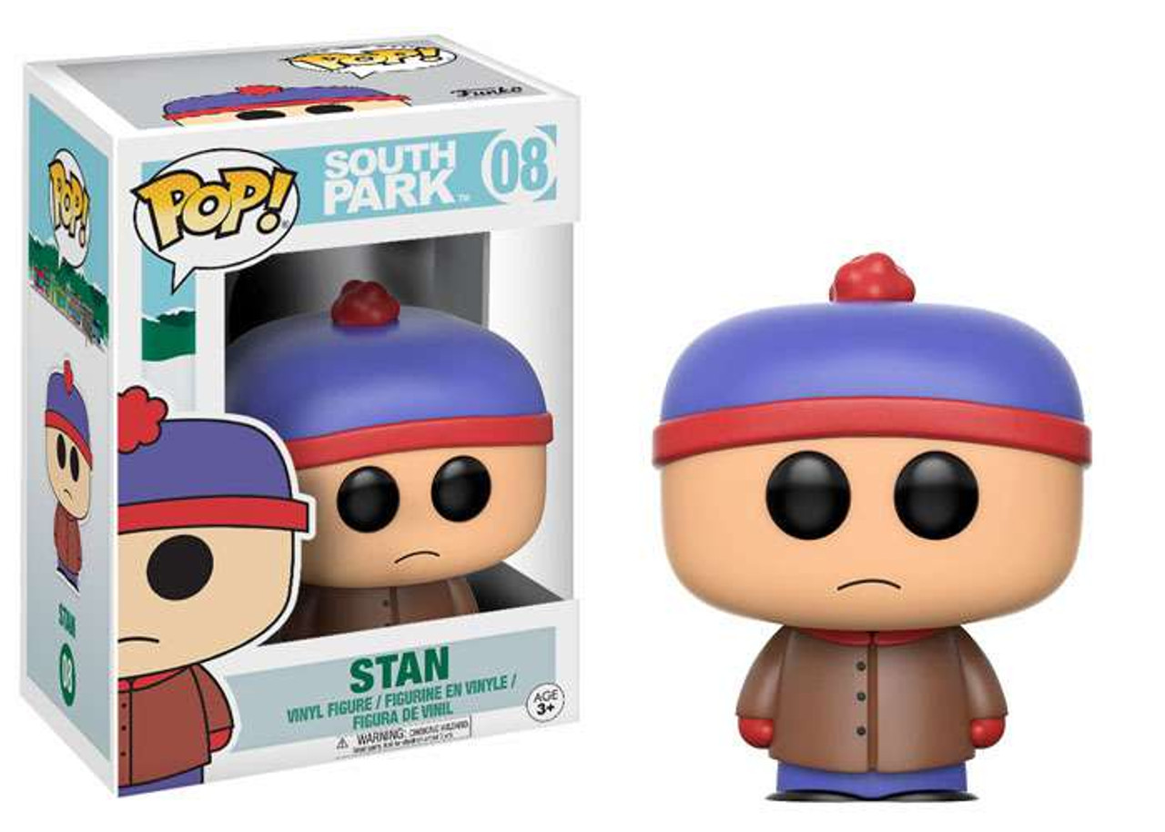 NEW OFFICIAL FUNKO POP SOUTH PARK PROFESSOR CHAOS #10 VINYL FIGURE