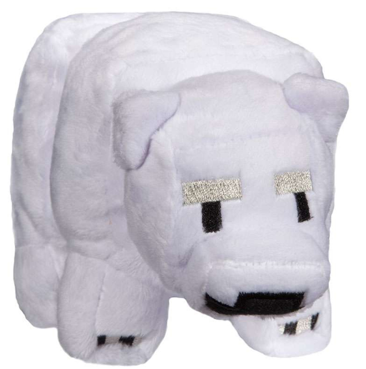 Minecraft Small Baby Polar Bear 4 5 Plush Jinx Toywiz