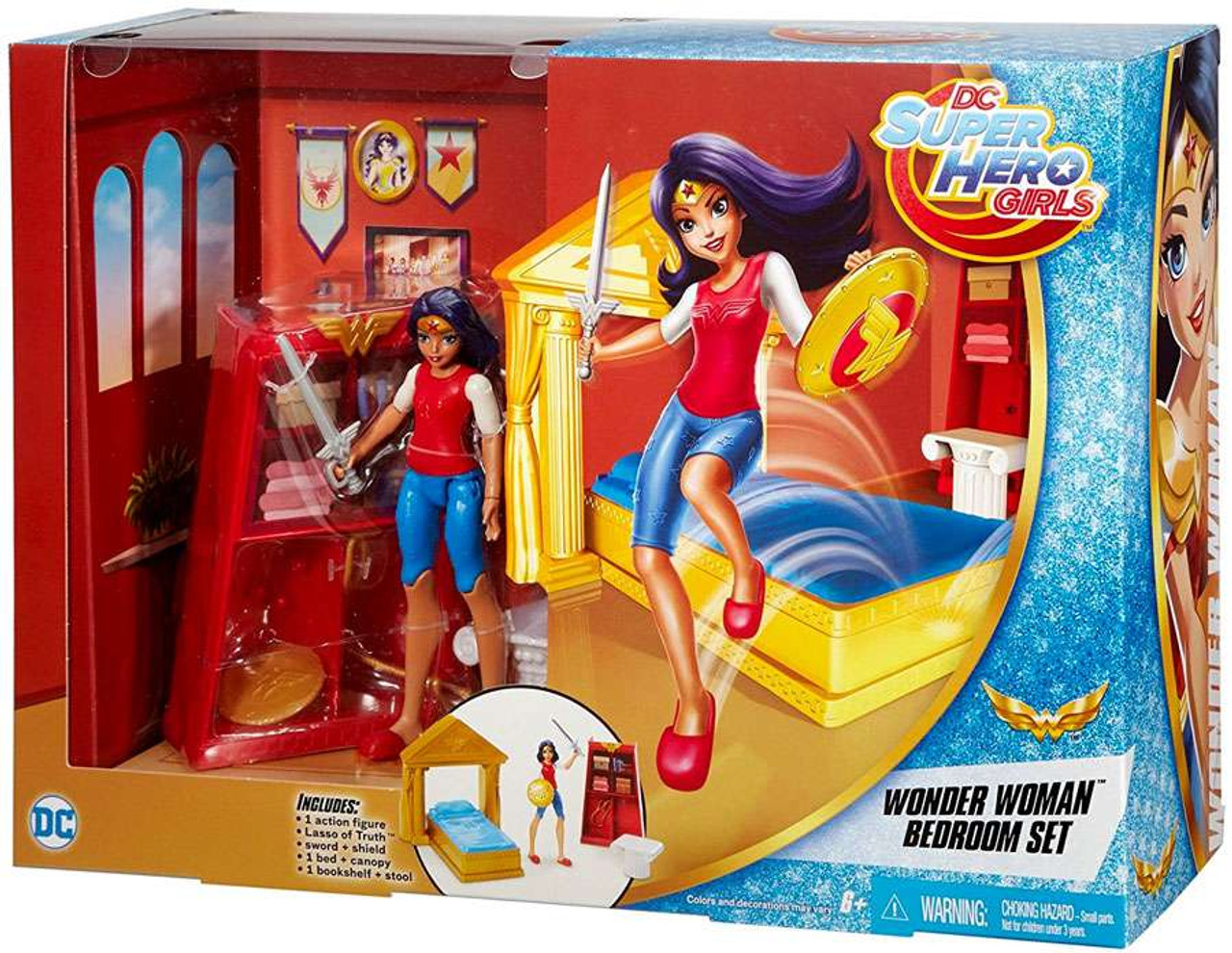 DC Super Hero Girls Wonder Woman Bedroom Set