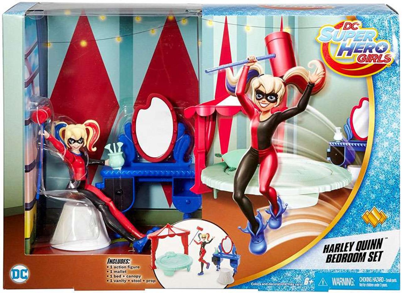 """6/"""" dc super hero girls wonder woman action figure bedroom set"""