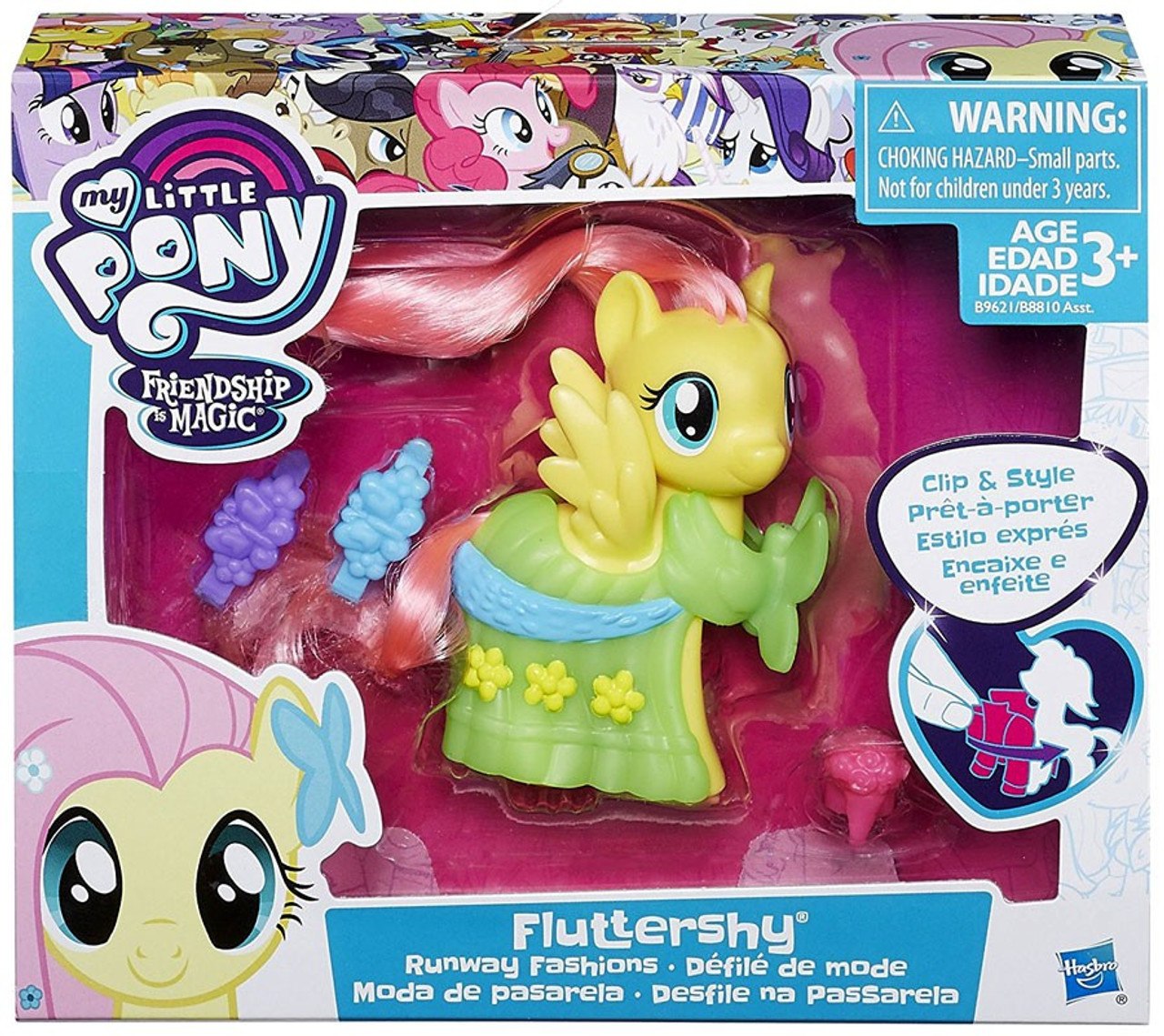 My Little Pony Friendship Is Magic Runway Fashions Fluttershy Figure