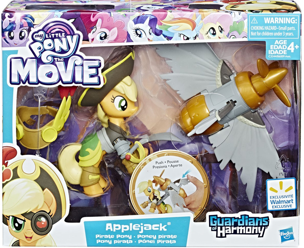 6eb7c7e07a4 My Little Pony Guardians of Harmony Applejack Figure Hasbro Toys ...