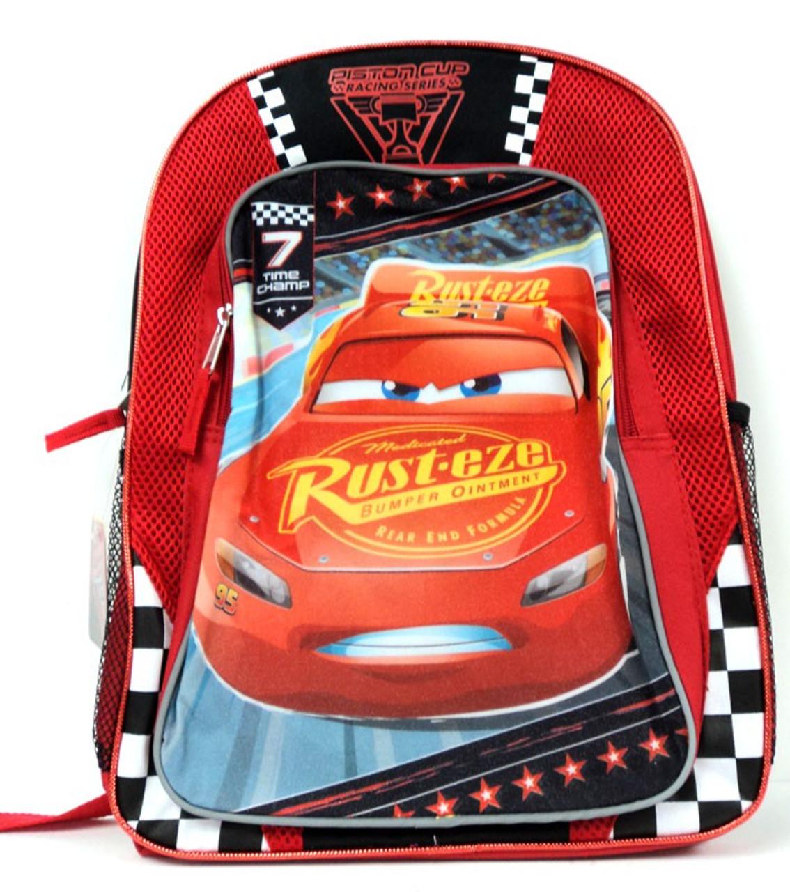 ba8ececf6fd Disney Pixar Cars Cars 3 Rust-eze Backpack Fast Forward New York - ToyWiz