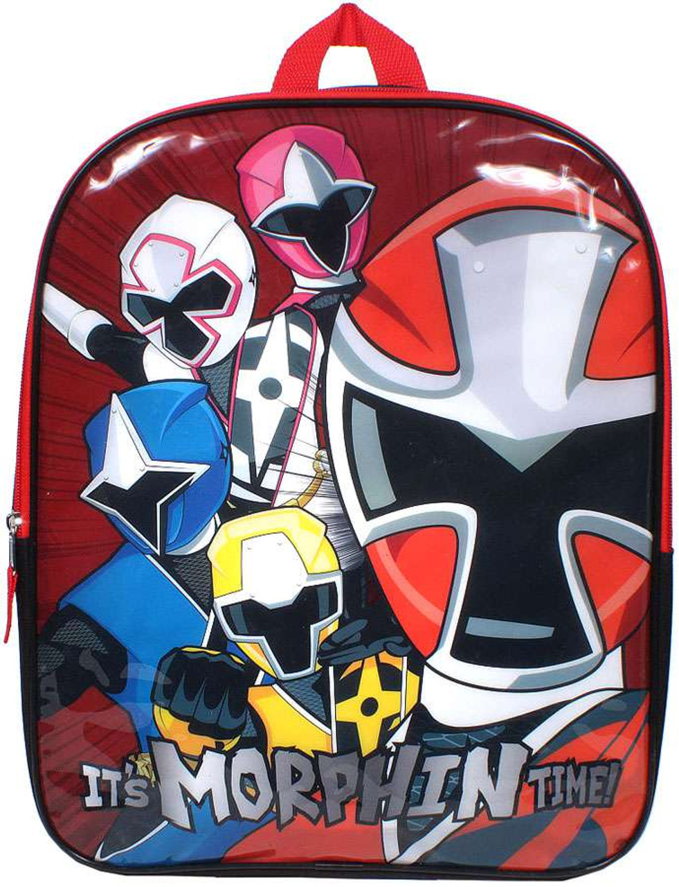 eb9b76698421df Power Rangers Its Morphin Time Backpack Accessory Innovations - ToyWiz
