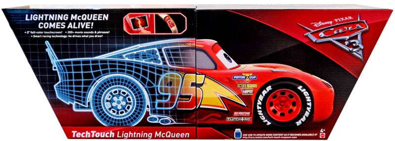 c9a903b28cf Disney Pixar Cars Cars 3 Tech Touch Lightning McQueen Vehicle Mattel Toys -  ToyWiz