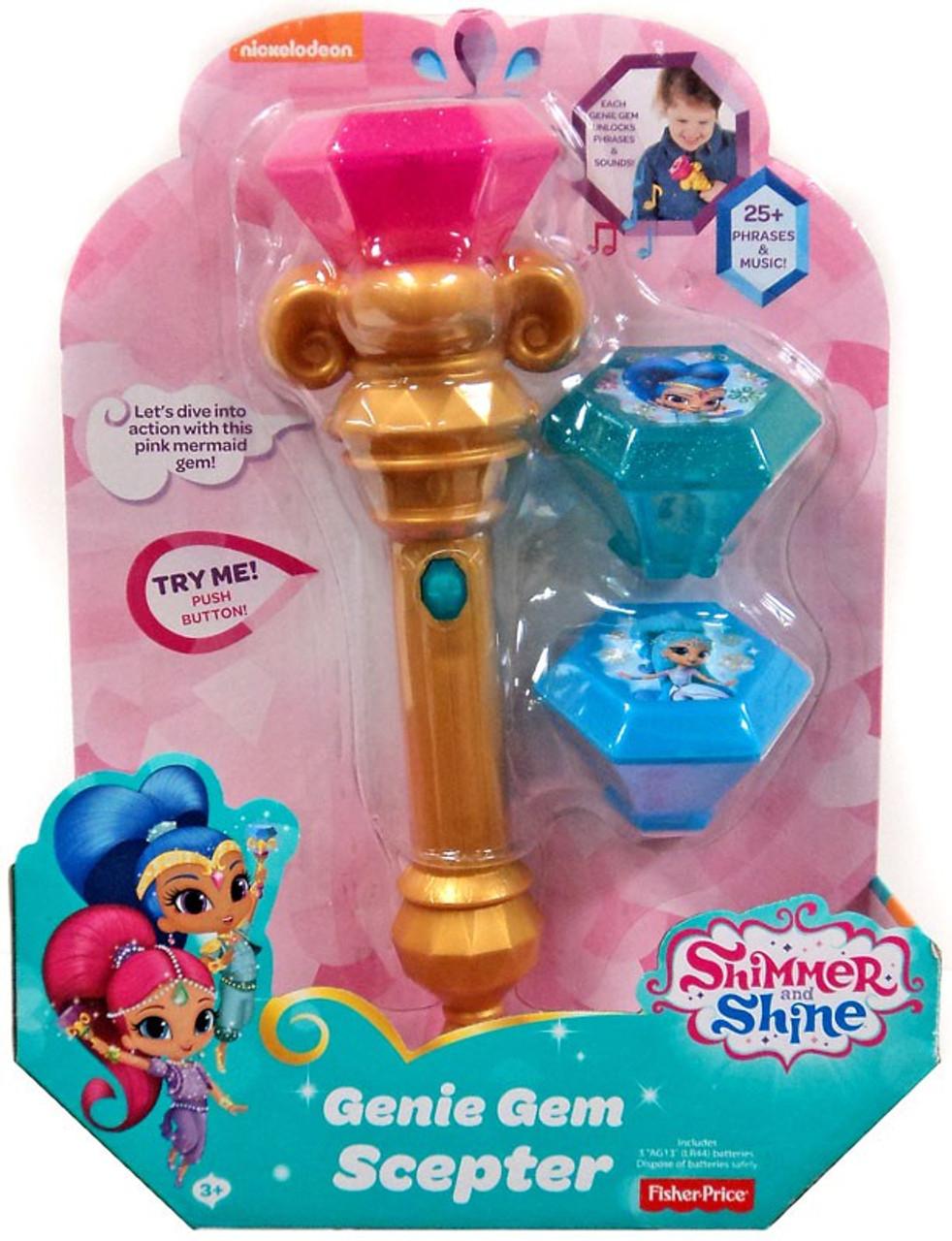 Fisher Price Shimmer Shine Genie Gem Scepter - ToyWiz