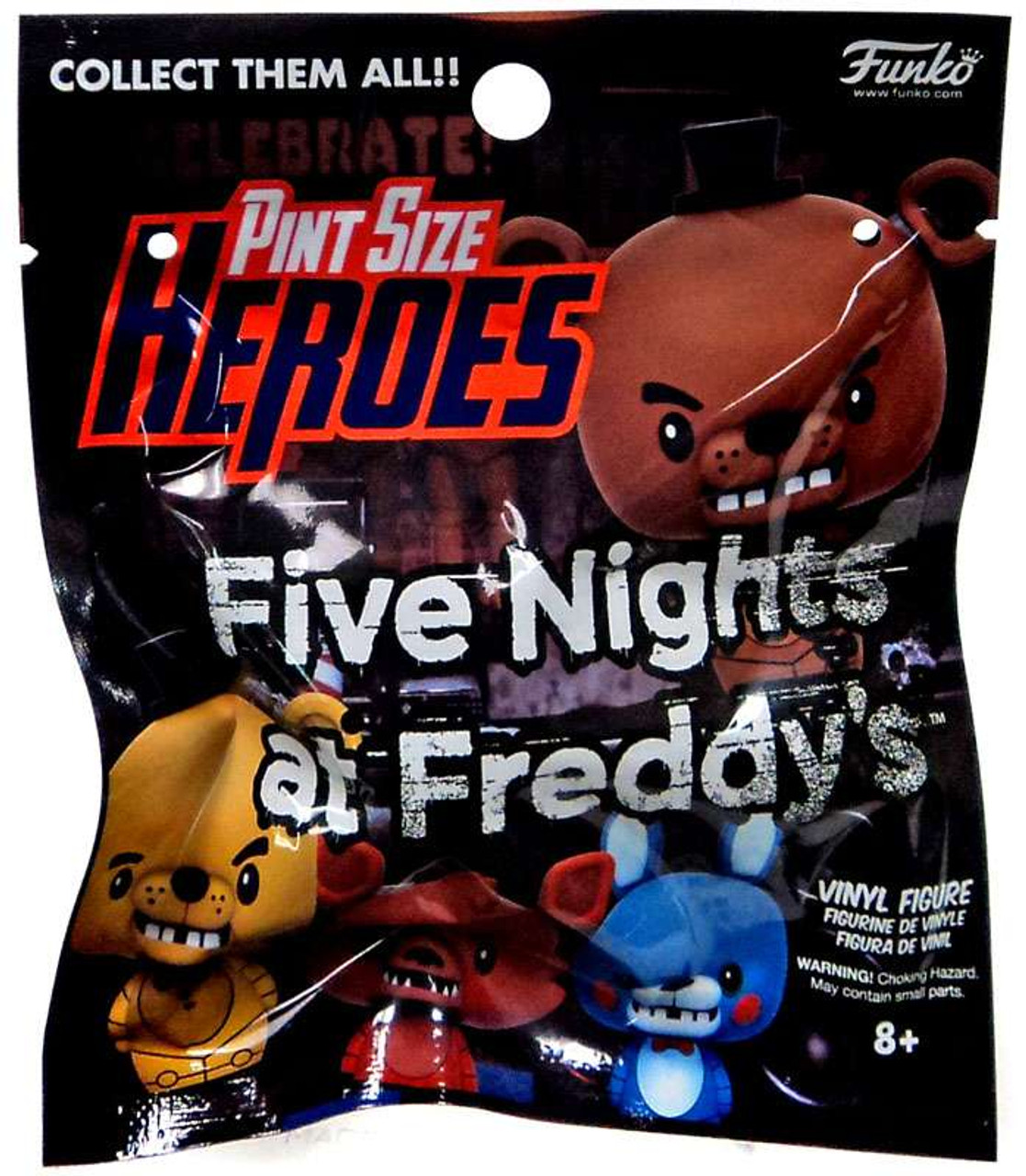 NEW PINT SIZED HEROES FIVE NIGHTS AT FREDDYS SINGLE FIGURE BLIND BAG