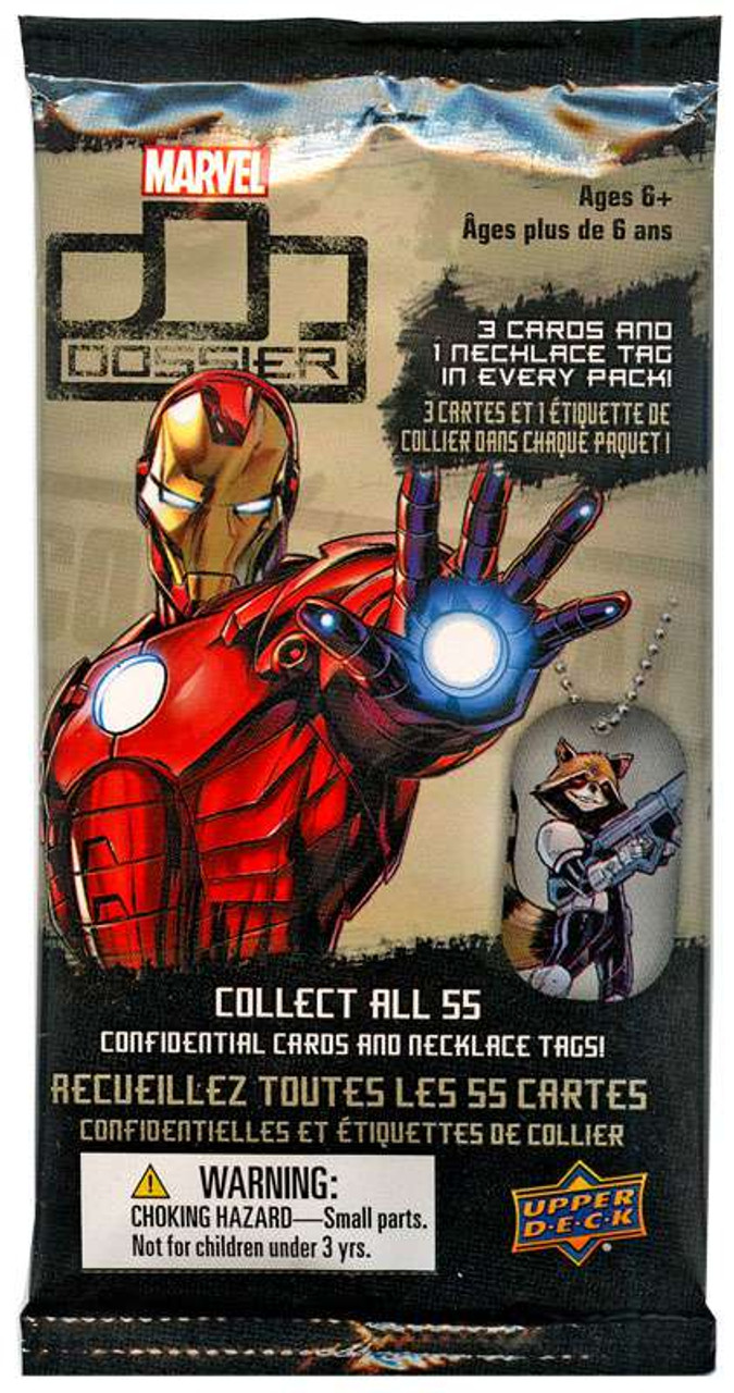 Marvel Confidential Dossier 2015 Upper Deck You pick 1