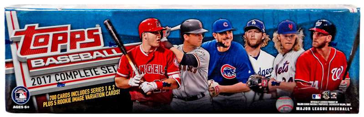 Mlb 2017 Topps Baseball Cards Complete Set Toywiz