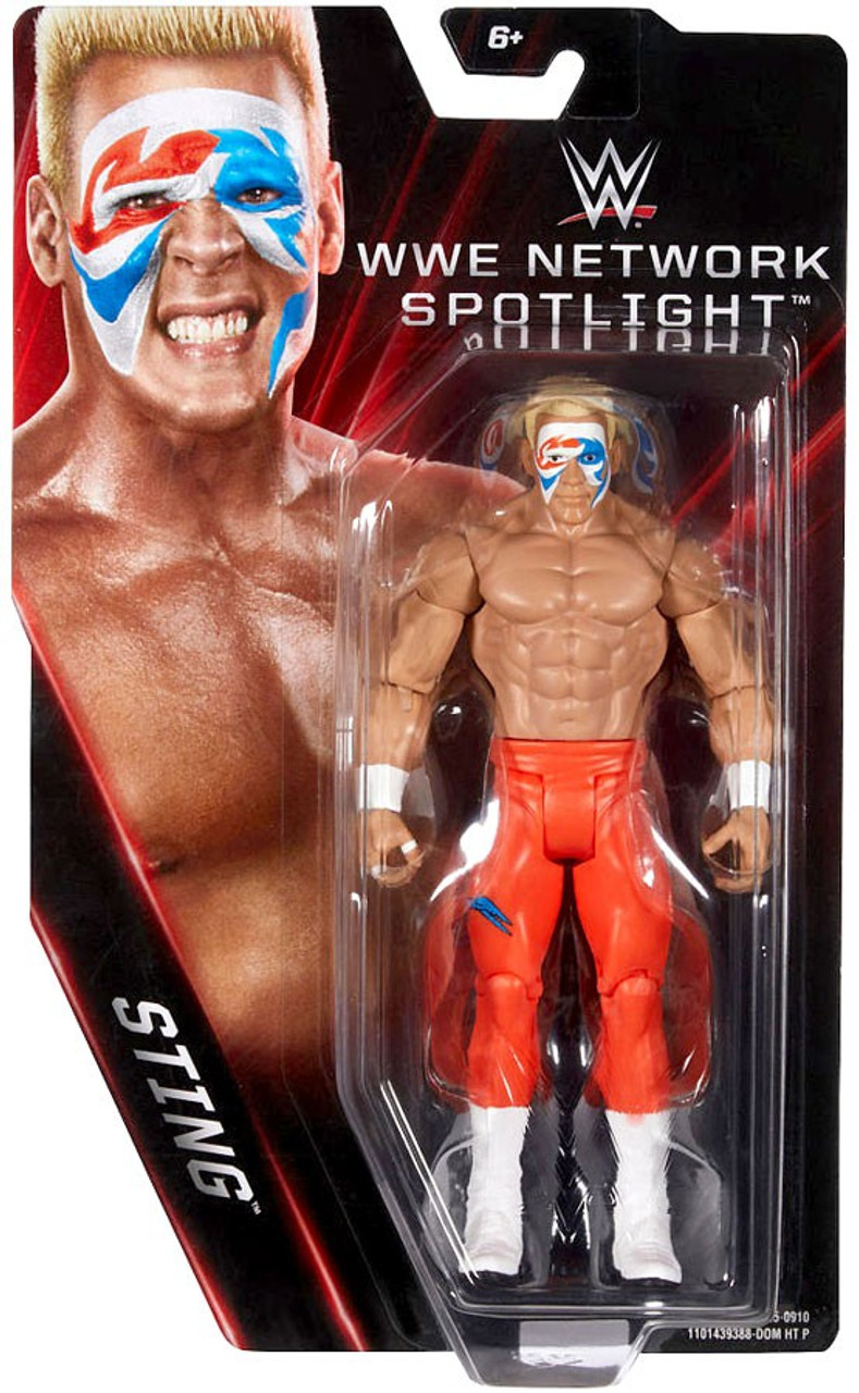 wwe wrestling network spotlight sting exclusive 6 action figure