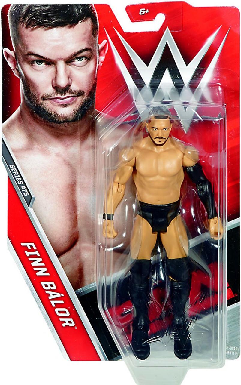 WWE Wrestling Series 75 Finn Balor Action Figure Mattel Toys