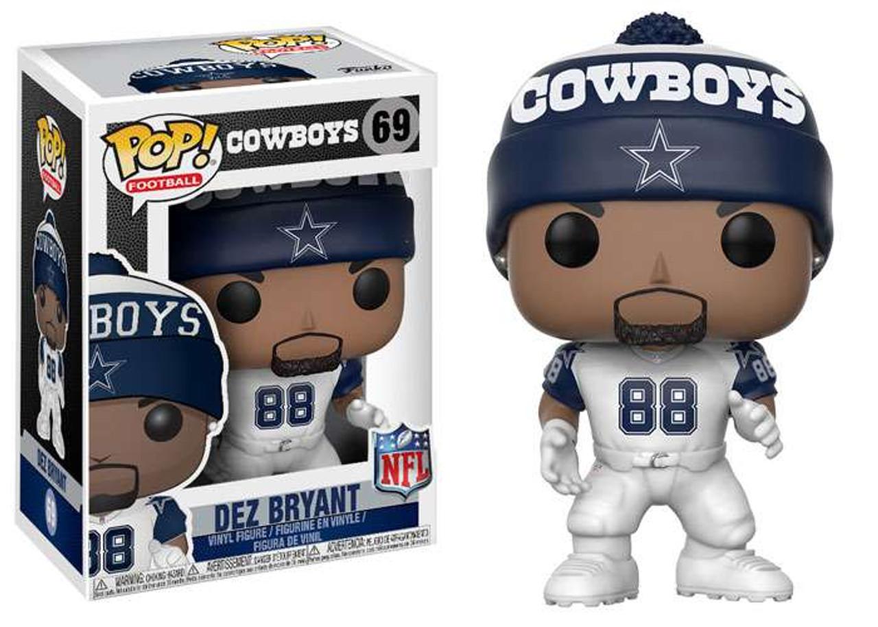 Nfl Dallas Cowboys Funko Pop Sports Dez Bryant Vinyl Figure Color Rush