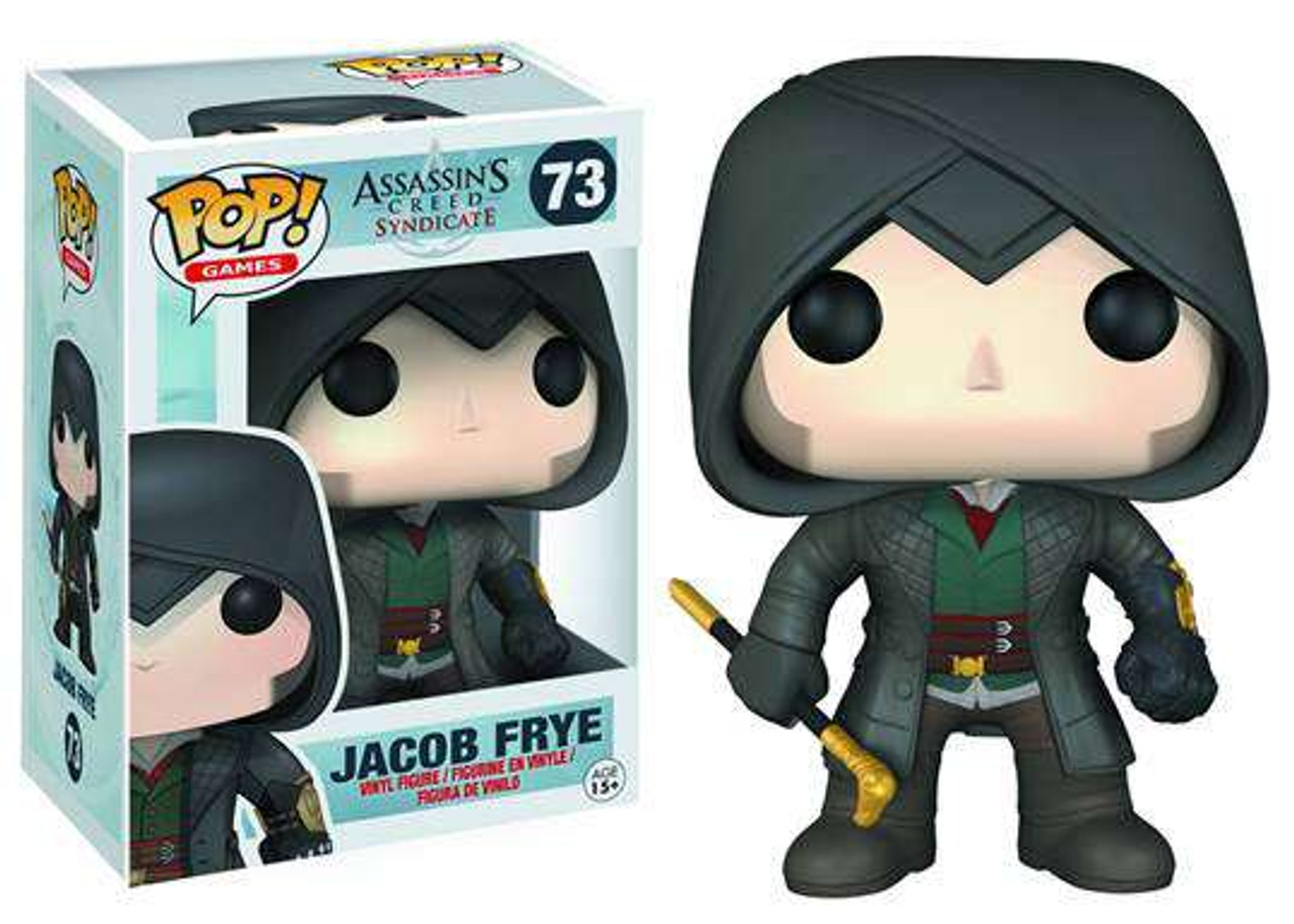Funko Assassins Creed Pop Games Jacob Frye Vinyl Figure 73 Damaged Package Toywiz