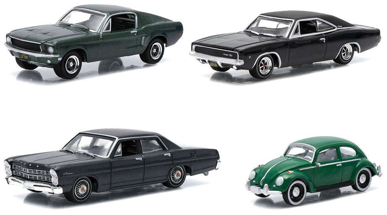 A.S.S NEU GreenLight 1//64 Dodge Charger 1968 Steve Mc Queen Bullitt Hollywood