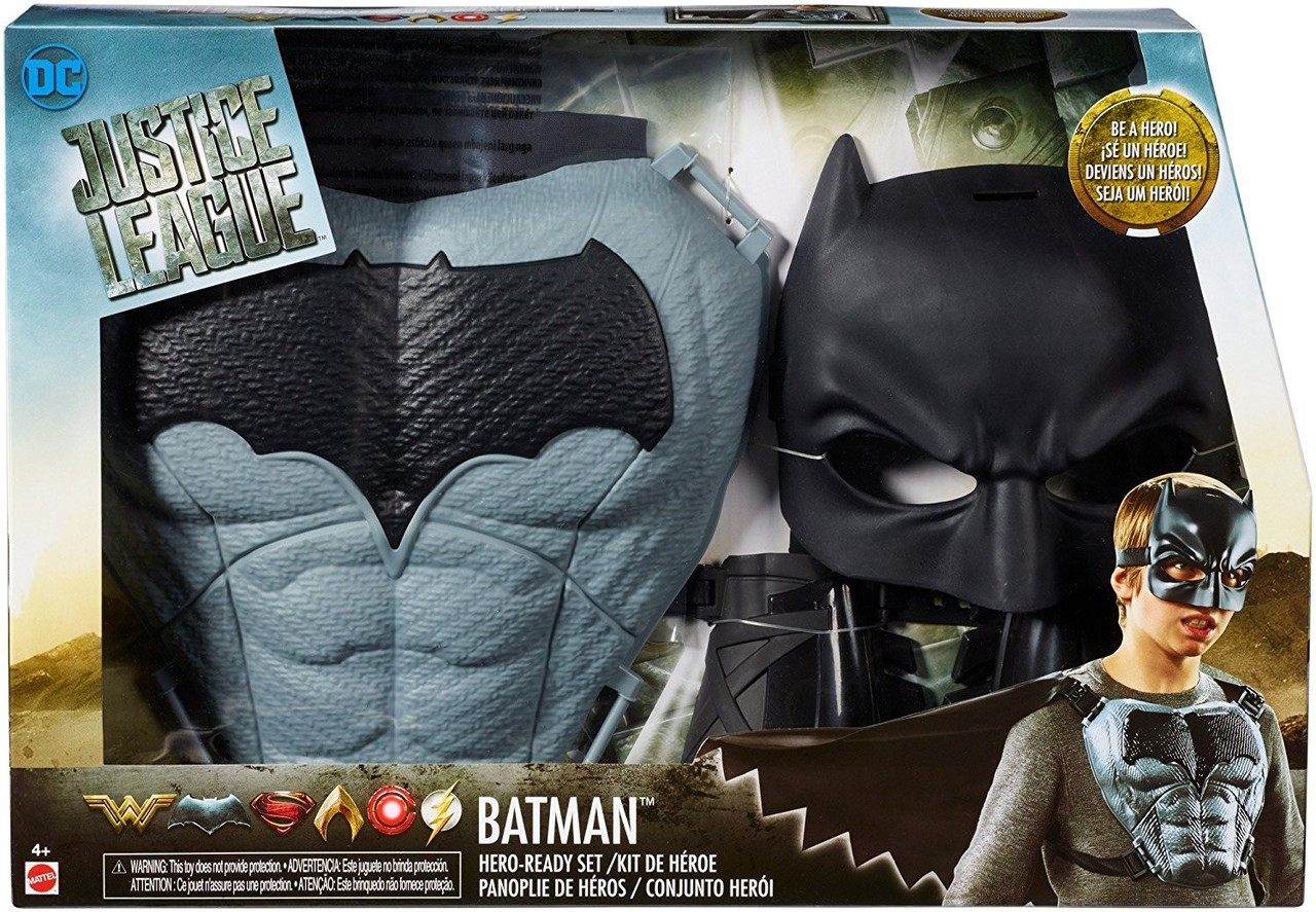 DC Justice League Batman Hero-Ready Set Official