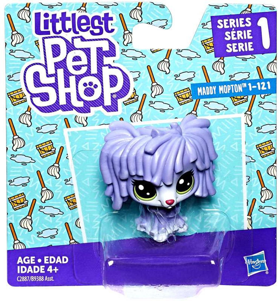 Littlest Pet Shop Series 1 Single Figure Maddy Mopton 121 - ToyWiz bfc7bc617b