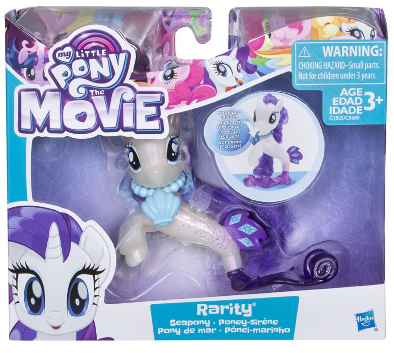 My Little Pony The Movie Rarity Seapony Figure