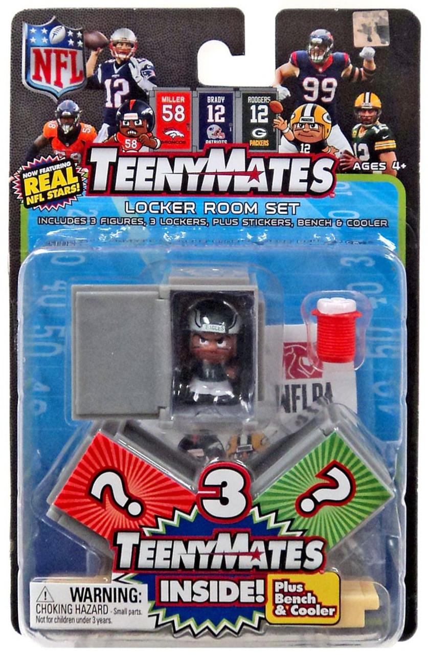 Nfl Teenymates Series 6 Locker Room Set Party Animal Toys